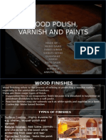 Wood Polish, Varnish and Paints