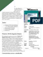 Windows 98 – Wikipédia, A Enciclopédia Livre