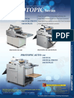 PROTOPIC 540 Series Email