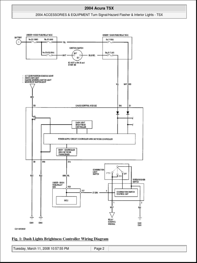 Acura Tsx Radio Wiring Diagram Electrical Diagrams 2004 Circuit U2022 2005