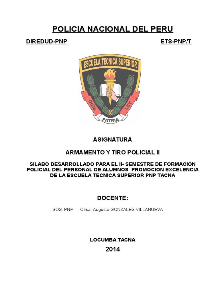 Silabo ARMA