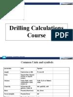 Drilling Calculations Presentation