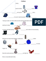 1º año práctica clothes