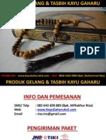 Gelang Gaharu Asli, HP 085643699889