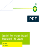 Bp-Operator's Views of Current Status and Future Research -H2S Cracking