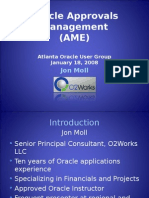 Oracle AME2