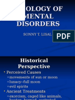 Etiology of Mental Disorders