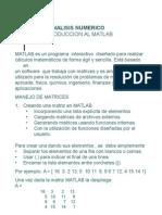 analisis numerico matlab