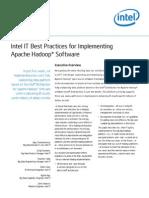 Best Practices for Implementing Apache Hadoop Paper