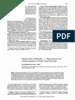 Polymer Films on Electrodes