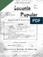 La Escuela popular (1912-1914)