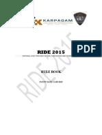 Ride 2015 Rulebook