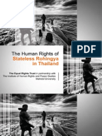 The Human Rights of Stateless Rohingya in Thailand(Small)