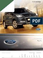 Ford Kuga - Broschuere