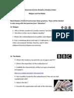 Vida e Instituciones de Gran Bretaña y Estados Unidos- Religion and the Media PDF