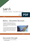 SAP Document Structure