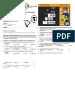 Examen Matematicas 2 2º Bimestre Resuelto