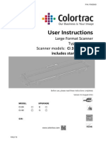 Colortrac Ci24 User Instructions