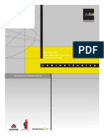 05. Manual de Escopo de Projetos e Serviços de Luminotécnica