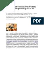 Frutas Desidratadas Uma Atividade Comercial Em Plena Expansão No Brasil