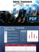 Digital Transformation of Entertainment