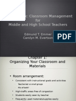 Classroom Management for Middle and High School