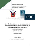 Protocolo Tabaquismo y Aparato Respiratorioo Tabaquismo y Aparato Respiratorio
