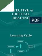 Effective & Critical Readinga