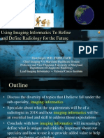 Practice of Radiology in 2018