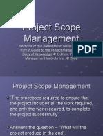 Scope Management Slides