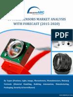 Optical Sensors Market to cross $34 Billion mark by 2020