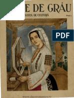 Boabe de Grau - Revista de Cultura, 5, Nr. 04, Aprilie 1934