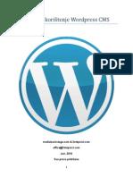 Uputstvo Wordpress CMS