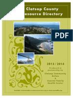 Clatsop County Resource Directory 2013