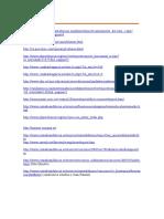 Direcciones Cazas y Webquest
