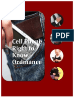 Berkeley - Cell Phone Right to Know Ordinance - Info - 20th August 2015