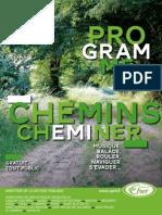 Programme Chemins, Cheminer - DLP18