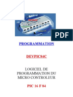 Utilisation de DEVPIC 84 en Assembleur