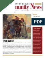 March 2010 Community News