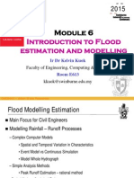Module 6_Itroduction to Flood Estmation and Modeling (2015)