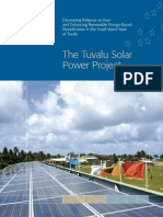 Tuvalu Solar Power Project Final