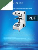 Sinowon Digital Micro Vickers Hardness Tester Vexus MHV-1000ZK
