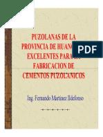 puzolanasdelaprovicniadehuancayoexcelentesparalafabricacindecementospuzolnicos-120418124224-phpapp02