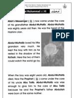 Grade 1 Islamic Studies - Worksheet 4.4 - Prophet Muhammad (Part 4)