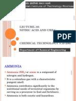 Lecture 16 NitricAcid Urea