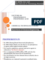 Lecture 21 Phosphorous