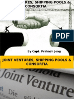 JVs, Shipping Pools & Consortia 24.10.2014