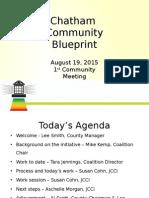 Chatham Community Blueprint Presentation