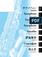 Yamaha Saxophone User Guide