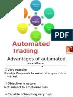 Automated Algo Trading